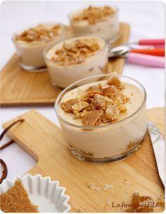 Tiramisu de noël à la crème de #marron et spéculoos - #recette #fête