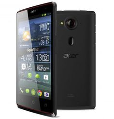 Acer Liquid E3, Smartphone Layar HD Kamera 13MP Harga 3 Jutaan