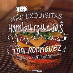 Libros de cocina vegana en castellano: Las Más Exquisitas Hamburguesas Veganas (Cocina Vegana)