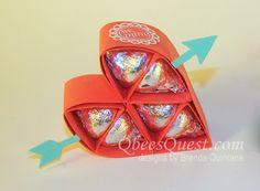Qbee's Quest: Hershey's Heart Tutorial UPDATED