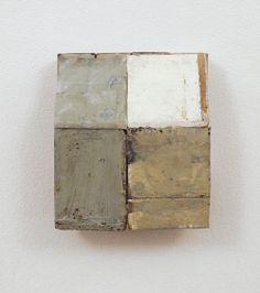 cinoh:  Mirco Marchelli  5. Particolar giardino religioso, 2009carta, legno, tempera e cera  cm 32x27x12