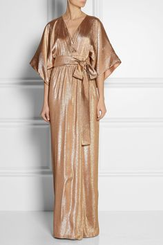 long gucci metallic kimono