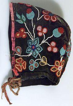 Plains Ojibwa (Bungi) Baby Cap - Circa 1910.