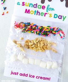 A Sundae for Mother's Day! A Sundae for Mother's Day! A free DIY Mother's Day card and printable Mothers Day Crafts For Kids, Mothers Day Cards, Happy Mothers Day, Mother Day Gifts, Diy Mother's Day Crafts, Mother's Day Diy, Kids Crafts, Easter Crafts, Handmade Crafts