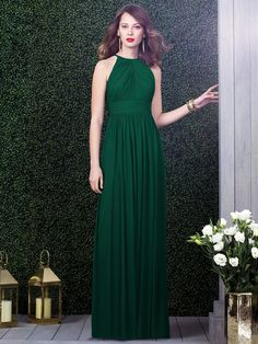 Dessy Collection Style 2918 (in Hampton or Hunter Green) $193