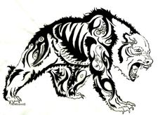 Tribal Bear Tattoo Designs | Cool Tattoos - Bonbaden