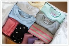 OMG!!!! I'm facinated by this new site, wittlebee.  You select your size, weather, colors, etc, and they send you a box full of kids clothes for $40 a month.