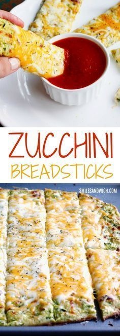 These Cheesy Zucchini Breadsticks are a low carb breadsticks recipe. A great zucchini recipe to use up your garden's bounty! Since this is a veggie-packed breadsticks recipe, it makes a perfect si… Low Carb Recipes, Diet Recipes, Vegetarian Recipes, Cooking Recipes, Healthy Recipes, Easy Recipes, Low Carb Zucchini Recipes, Vegan Zucchini, Zuchinni And Squash Recipes