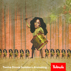 12 Donna Summers Drumming