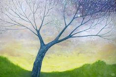 Álvaro Hernández .El árbol de Juana..óleo sobre tela.