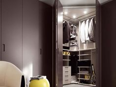 CORNER WARDROBE ALFA COLLECTION BY NOVAMOBILI