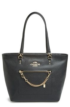 18c476599619 COACH  Town Car  Leather Tote available at  Nordstrom Coach Pocketbooks