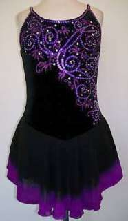 Competition Ice figure skating dress/Baton Twirling/Dance/Tap outfit