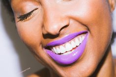 A Really, Really, Beautiful Purple Lipstick For Dark Skin. Pt. 1