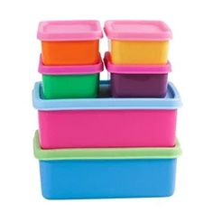"""Set of small and big Food boxes in colors from RICE"" https://sumally.com/p/477978"