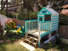 Kids wood house. Rent A Villa, Kids Wood, House In The Woods, Portugal, Deck, Outdoor Decor, Home Decor, Decoration Home, Room Decor