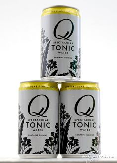 Q Tonic was designed in a kitchen in Brooklyn. Tonic Water, Gin And Tonic, Bottle Design, Alcohol, Canning, Mugs, Tableware, Brooklyn, Kitchen
