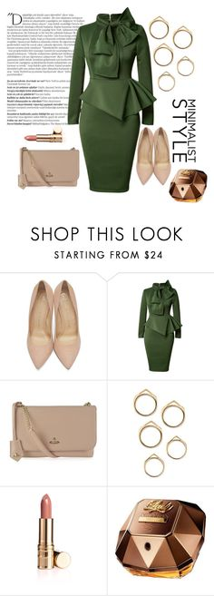 """""""Untitled #51"""" by darklady03 ❤ liked on Polyvore featuring Balmain, Charlotte Olympia, Vivienne Westwood and Paco Rabanne"""
