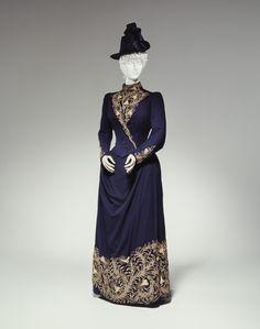 1888 Walking Suit by Redfern.