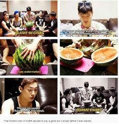 Winner everyone...That's why I love them. XD