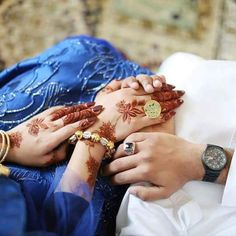 Mehndi uploaded by Rose hussain on We Heart It Love Couple Images, Couples Images, Love Pictures, Hand Pictures, Girly Pictures, Couple Pictures, Arabic Henna Designs, Bridal Mehndi Designs, Cute Muslim Couples
