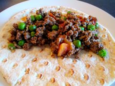 Kheema: Indian Ground Beef with Peas!! If you love Indian food, you have to try this! Super easy to make and tastes amazing!