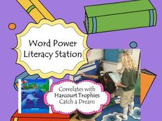 Word Power Literacy Station - kids work together to find all the words and punctuation needed to build a paragraph.  Tons of reading practice!