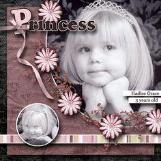 Princess Hadlee, layoutby scrap happy