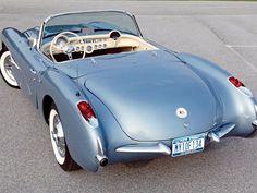 Chevrolet Corvette fluid design 1957 ❤ App for Chevrolet  ★ Chevrolet Warning Lights guide, now in App Store https://itunes.apple.com/us/app/chevrolet-car-problem-chevrolet/id981990536?ls=1&mt=8