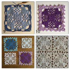 crochet millan - The Family Heart Square   - Free Crochet Pattern