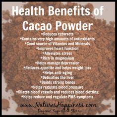 cocoa powder for health - Google Search