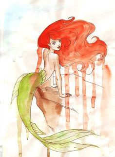 ✯ The Little Mermaid ::•:: Artist Unknown ✯