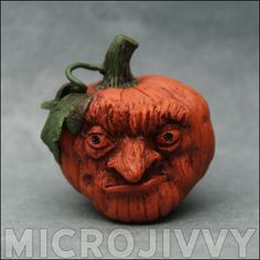 Pumpkin Head by Microjivvy on Craftster.org