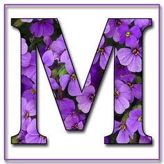"""Free Scrapbook Alphabet Letters """"Purple Flowers"""" in JPG & PNG For this project I used my own alphabet """"A,"""" a Photoshope font, and a backg. Purple Love, All Things Purple, Purple Rain, Shades Of Purple, Purple Flowers, Purple Stuff, Alphabet And Numbers, Alphabet Letters, Alphabet Fonts"""
