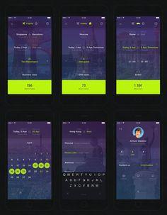 Travellers App by Artiom Vladimir