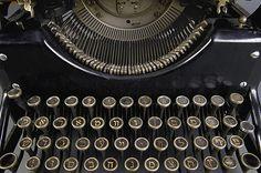Isaac Bashevis Singer's Yiddish typewriter. Photo by Pete Smith.