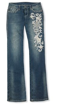 Crystal Mission Jeans