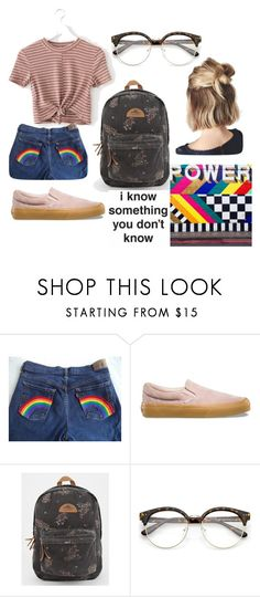 """""""dress to impress/simple"""" by whenyoucomefromtumblr ❤ liked on Polyvore featuring Vans and O'Neill"""