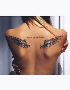 40 Stunning And Fantastic Angel Wings Designs You Must Try – Page 28 of 40 – Cute Hostess For Modern Women – tattoos for women small Mommy Tattoos, Baby Tattoos, Mini Tattoos, Cute Tattoos, Beautiful Tattoos, Body Art Tattoos, Tribal Tattoos, Sleeve Tattoos, Flower Tattoos