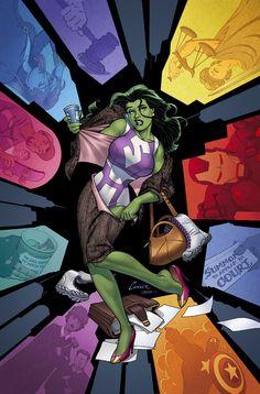 La Hulka de Amanda Conner