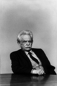 Elias Canetti, österreichisch-bulgarisch-schweizerischer Schriftsteller und Nobelpreisträger. Fotografie: Isolde Ohlbaum