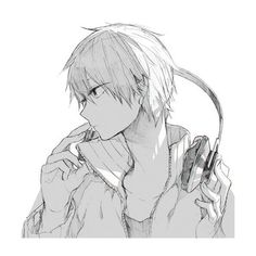 Anime Boys~ ❤ liked on Polyvore featuring anime, manga, anime pics, drawing fillers and people