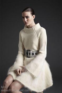 СТИЛЬНОЕ ВЯЗАНИЕ: Knitting dress 2013. Вязаные платья - вдохновляемся!