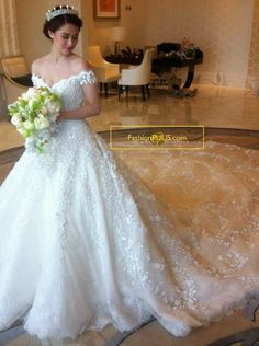 Fashion PULIS: First on Fashion PULIS: Marian Rivera in Her Michael Cinco Wedding Gown