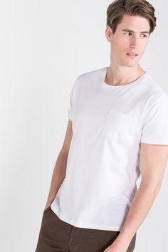 Cortefiel Basic t-shirt White