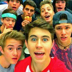 Hayes,Jack,Matt,Aron,Taylor,Jack,Carter, and Nash!=)