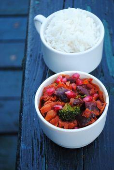 Beet Curry / Recipe