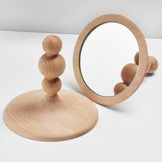 1000 images about lovely objets on pinterest news deco for Miroir a poser sur table