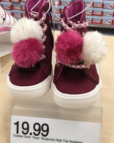 Can't handle how cute these toddler sneaks are!! $19.99 #targetdoesitagain 💗🎯💗