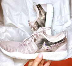 Perfect Gift - Nike Shoes - Crystahhled - Blinged Out - Nike 7cacaef53aa0